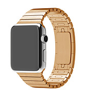 Ver Banda para Apple Watch Series 3 / 2 / 1 Apple Hebilla de la mariposa Acero Inoxidable Correa de Muñeca