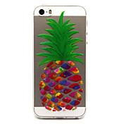 Para Funda iPhone 5 Carcasa Funda Transparente Diseños Cubierta Trasera Funda Fruta Suave TPU para iPhone 7 Plus iPhone 7 iPhone SE/5s
