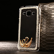 Funda Para Samsung Galaxy Funda Samsung Galaxy Diamantes Sintéticos Transparente Funda Trasera Dibujo 3D ordenador personal para J7 Prime