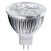 4W 400-450lm GU5.3(MR16) Focos LED MR16 5 Cuentas LED LED de Alta Potencia Decorativa Blanco Cálido / Blanco Fresco 12V