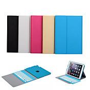 auto de vigilia / sueño teclado bluetooth caso extraíble para el aire de Apple IPAD (colores surtidos)