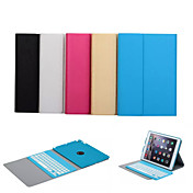 auto våkne / sove bluetooth tastatur flyttbar sak for Apple iPad luft (assortert farge)