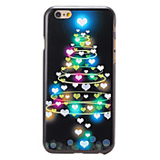 Para Funda iPhone 6 / Funda iPhone 6 Plus Diseños Funda Cubierta Trasera Funda Navidad Dura PolicarbonatoiPhone 6s Plus/6 Plus / iPhone