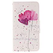 Funda Para Samsung Galaxy Funda Samsung Galaxy Soporte de Coche con Soporte Flip Magnética Diseños Funda de Cuerpo Entero Flor Cuero de PU