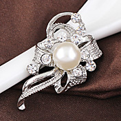 Dame Nåler Krystall Lyseblå Stilfull Mote Smykker Bryllup Fest Hverdag Kostyme smykker