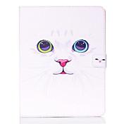 Etui Til iPad 4/3/2 Kortholder med stativ Heldekkende etui Ord / setning PU Leather til iPad 4/3/2
