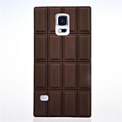 Etui Til Samsung Galaxy Mønster Bakdeksel 3D-tegneseriefigur Silikon til S5
