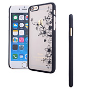 Funda Para Apple iPhone 6 iPhone 6 Plus Traslúcido Diseños Funda Trasera Flor Dura ordenador personal para iPhone 6s Plus iPhone 6s