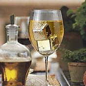 SUS304 de la categoría alimenticia de acero inoxidable piedra de hielo para el vino barra de 1 pieza