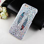 Etui Til Apple iPhone 6 Plus / iPhone 6 Mønster Bakdeksel Fjær Hard PC til iPhone 6s Plus / iPhone 6s / iPhone 6 Plus