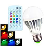 700 lm E26/E27 B22 LED-globepærer A60(A19) 15 leds SMD 5730 Mulighet for demping Dekorativ Fjernstyrt Varm hvit Kjølig hvit Naturlig hvit