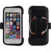 Para Funda iPhone 6 / Funda iPhone 6 Plus Antigolpes / Antipolvo / Impermeable / con Soporte Funda Cuerpo Entero Funda Armadura Suave