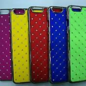 Etui Til Apple iPhone 6 iPhone 6 Plus Rhinstein Belegg Mønster Bakdeksel Geometrisk mønster Hard PC til iPhone 6s Plus iPhone 6s iPhone 6