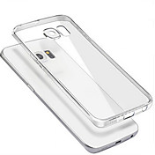 Funda Para Samsung Galaxy Funda Samsung Galaxy Transparente Funda Trasera Color sólido ordenador personal para S6 edge plus S6 edge S6 S5