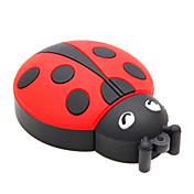 zpk15 8gb escarabajo Coccinella septempunctata de dibujos animados USB 2.0 Flash Drive de memoria u palillo