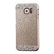 케이스 제품 Samsung Galaxy Samsung Galaxy S7 Edge 크리스탈 뒷면 커버 글리터 샤인 PC 용 S7 edge S7 S6 edge S6 S5 S4 S3