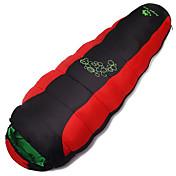 Bolsa de dormir Saco Mummy Sencilla +10 Algodón VacíoX80 Caza Senderismo Pesca Camping Viaje Al Aire LibreMantiene abrigado A Prueba de
