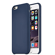 Para Funda iPhone 6 / Funda iPhone 6 Plus Other Funda Cubierta Trasera Funda Un Color Dura Cuero SintéticoiPhone 6s Plus/6 Plus / iPhone