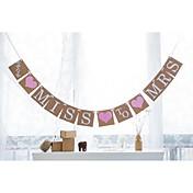 Bryllup / Engasjement / Utdrikningslag Hardt Kortpapir Bryllupsdekorasjoner Strand Tema / Hage Tema / Blomster Tema Vår / Sommer / Høst