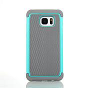 Para Funda Samsung Galaxy Antigolpes Funda Cuerpo Entero Funda Armadura Dura Silicona para SamsungS8 Plus S8 S7 edge S7 S6 edge plus S6