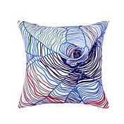 1 stk Polyester Pute med Innsetthull, Grafiske trykk Moderne Moderne
