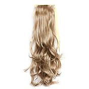 longitud de plata 50cm la nueva cinta rizada peluca de mezcla tipo de cola de caballo (color 10/613)