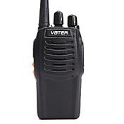 VBT-V3 Walkie-talkie Håndholdt Programmeringskabel Nød Alarm Lader og adapter VOX Pausetimer CTCSS / CDCSS 3-5 km 3-5 km 16 1500MAh ≤5W