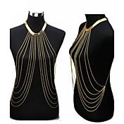 Dusk Magekjede / Kroppskjede / Magekjede / Harness Necklace - Gullbelagt dusk, Europeisk, Bikini Dame Gylden Kroppsmykker Til Fest / Daglig / Avslappet