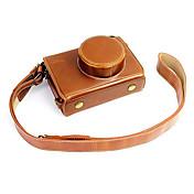 Fujifilm Kamera x100s / x100t lær beskyttende halv sak / bag