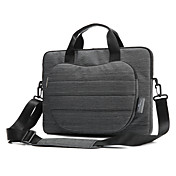 Bolsos de Mano para Funda Protectora Fundas con Correa Negocios Color sólido Nailon MacBook Pro 15 Pulgadas MacBook Air 13 Pulgadas