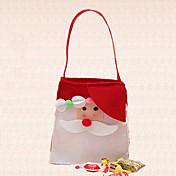 1 개 단일 어깨 야외 크리스마스 사탕 가방 장식 산타 클로스 장식 홈 파티 용품
