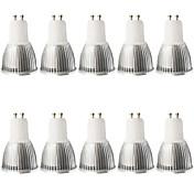 5W 400-450 lm GU10 Focos LED MR16 1 leds COB Regulable Decorativa Blanco Cálido Blanco Fresco AC 110-130V AC 100-240V