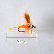 "500 pcs Cebos Señuelos duros Naranja g/Onza,23 mm/1"" pulgada,Plástico blando Pesca de baitcasting"