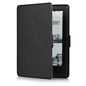 Funda Para Amazon Kindle Carcasas de Cuerpo Completo Funda de Cuerpo Entero Color sólido Dura Cuero de PU para