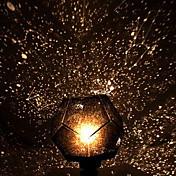 2pcs manual de bricolaje Galaxy romántico cielo estrellado noche del proyector de la luz + constelación