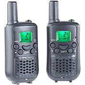T899C Walkie-talkie Håndholdt VOX Kryptering CTCSS/CDCSS LCD Skan Overvågning 3-5 km 3-5 km 8 AAA 0.5W Walkie Talkie Toveis radio