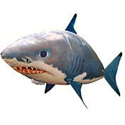 Tiburón de radiocontrol / Animal por control remoto / Tiburón volador Pez payaso Inflable / Movimiento realista / Nadador de aire Nailon