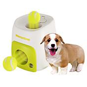 강아지 장난감 반려동물 장난감 볼 인터렉티브 음식 디스펜서 테니스공 플라스틱