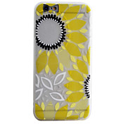 Para Funda iPhone 6 / Funda iPhone 6 Plus / Funda iPhone 5 Congelada / Traslúcido / Diseños Funda Cubierta Trasera Funda Flor Suave TPU