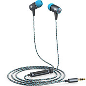 Huawei am12 plus En el oido Con Cable Auriculares Aluminum Alloy Teléfono Móvil Auricular Con control de volumen Con Micrófono Auriculares
