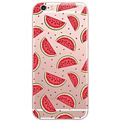 Funda Para Apple iPhone X iPhone 8 Funda iPhone 5 iPhone 6 iPhone 7 Ultrafina Traslúcido Funda Trasera Caricatura Suave TPU para iPhone X
