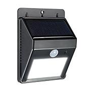 태양 광 urpower 8 테라스 데크 마당 gardendrivewayoutside 벽을 위해 야외 태양 전원 무선 방수 보안 모션 센서 빛을 주도