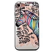 용 아이폰7케이스 / 아이폰7플러스 케이스 / 아이폰6케이스 패턴 케이스 뒷면 커버 케이스 동물 소프트 TPU Apple 아이폰 7 플러스 / 아이폰 (7) / iPhone 6s Plus/6 Plus / iPhone 6s/6