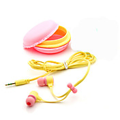 I øret Med ledning Hodetelefoner Plast Mobiltelefon øretelefon Med mikrofon Støyisolerende Headset