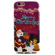 용 패턴 케이스 뒷면 커버 케이스 크리스마스 소프트 TPU Apple iPhone 6s/6