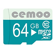 CEMOO 64GB Tarjeta TF tarjeta Micro SD tarjeta de memoria Clase 10