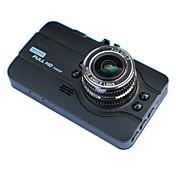 A11L 720p / HD 1280 x 720 / 1080p HD DVR del coche 140 Grados / 170 Grados Gran angular 3 pulgada LTPS Dash Cam con Visión nocturna /