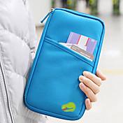 Monedero de Viaje Billetera y Cartera Protector para tarjetas de crédito Cartera de viaje para pasaporte Impermeable Portátil A prueba de