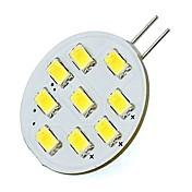 2W 400lm G4 LED-lamper med G-sokkel T 9 LED perler SMD 5730 Varm hvit Kjølig hvit 85-265V 12V