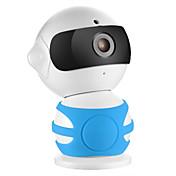 sannce® 960p hd alarm p2p robot ip kamera trådløs wifi toveis lyd baby monitor
